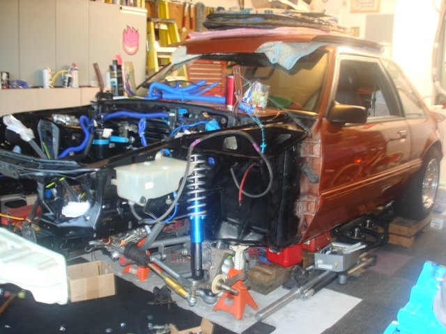 Power Steering Problems >> UPR Tubular K Member install questions - Ford Mustang Forum