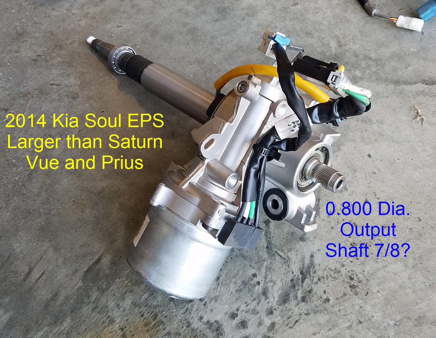35 Electric Power Steering With Fail Safe No Ebay