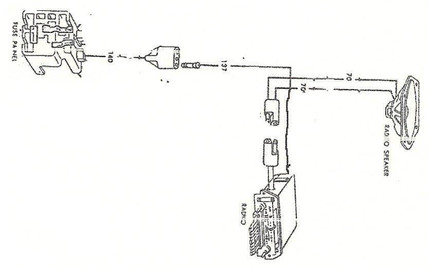 ford radio schematics