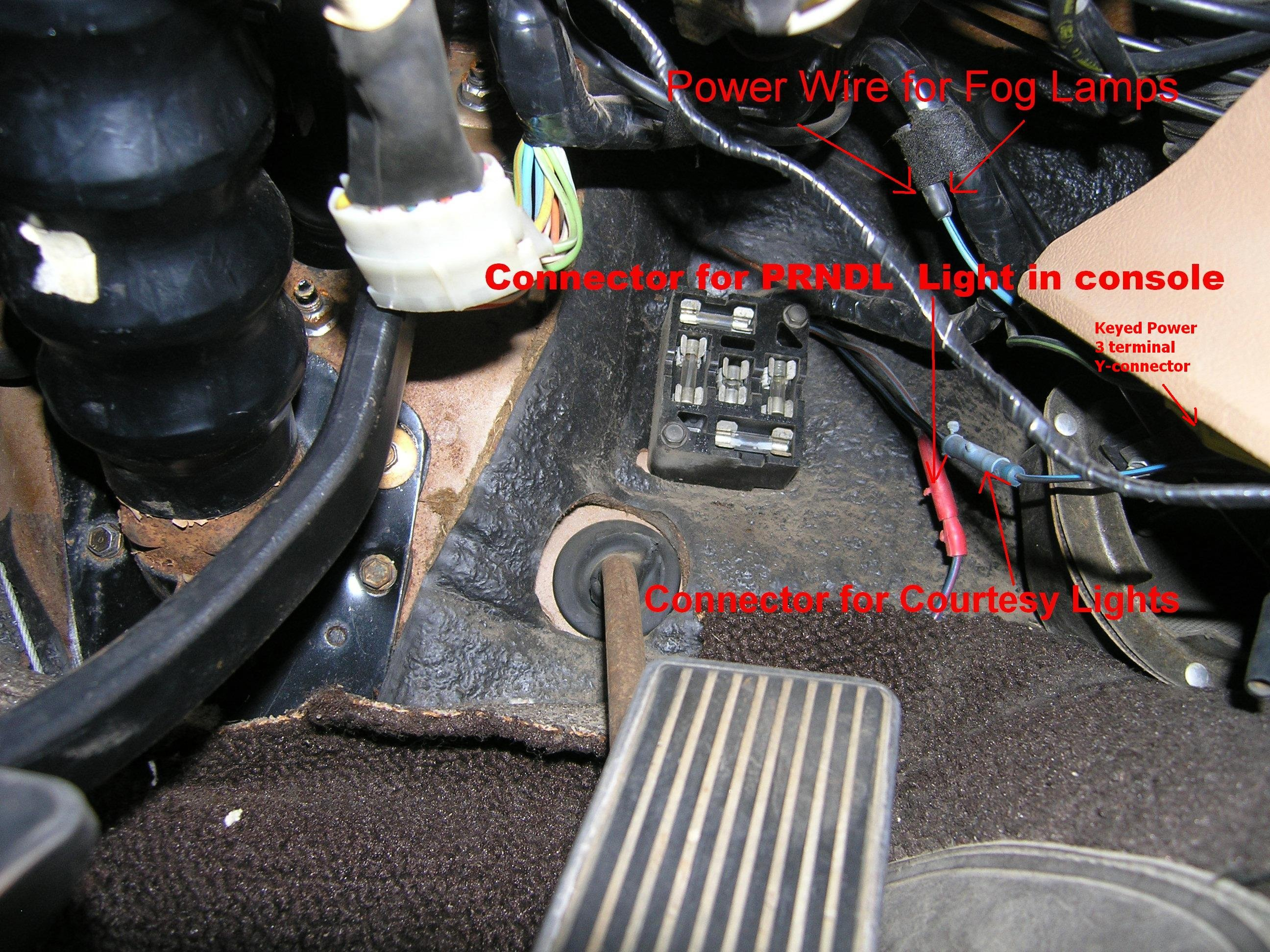 Fog Light Wiring On A 1968 Mustang - Page 2
