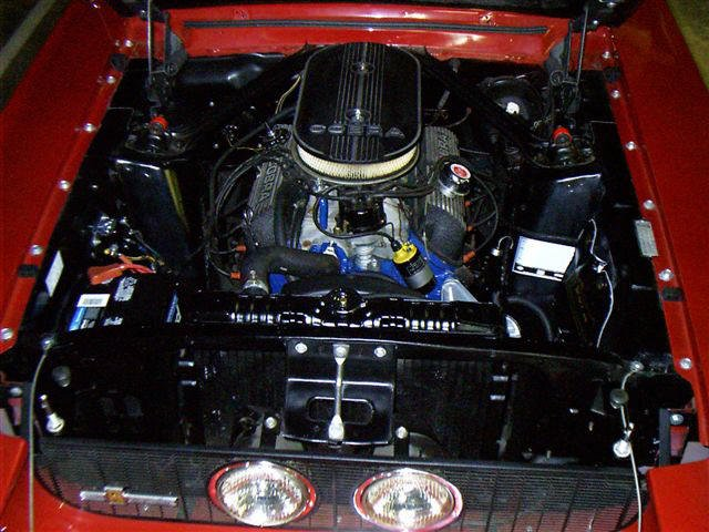 D Mustang Motor Compartment Colors Gt