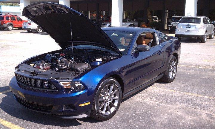 Kona Blue Mustang >> Brand New 2011 Mustang V6, MCA Kona Blue/Saddle - Ford Mustang Forum