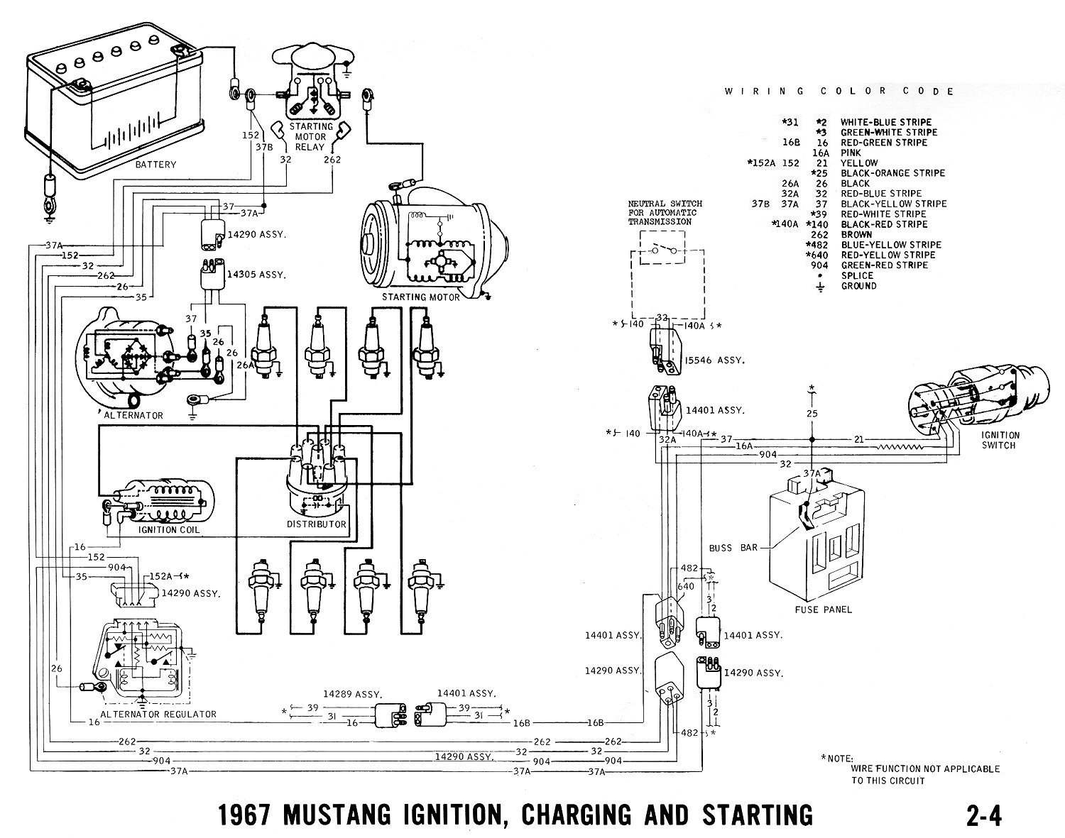 All I have is a '67 wiring diagram. I hope it gives you a general idea