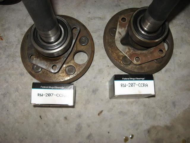 8 Inch Rear Bearing Axle Question Ford Mustang Forum