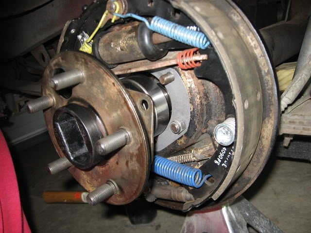 1968 Mustang-How do you replace rear wheel bearing - Ford ...