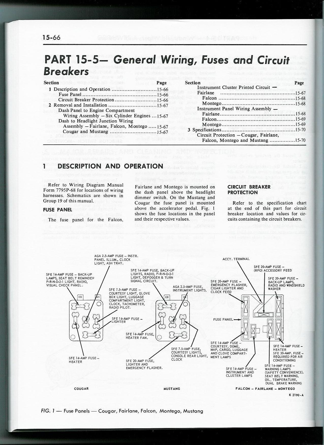 1968 Under-dash Wiring