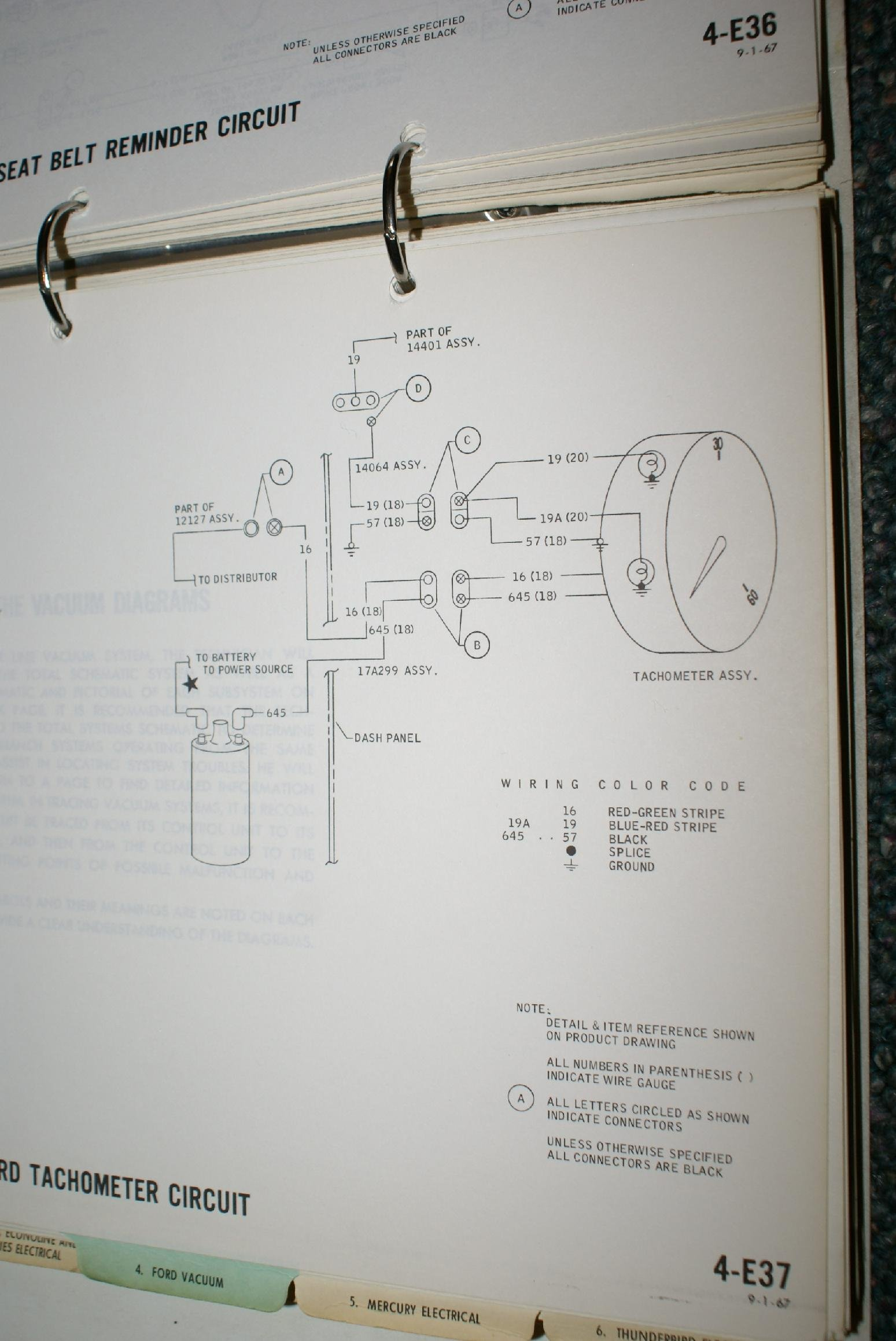 1969 Mustang Tach Wiring Diagram Electrical Diagrams 1970 Dodge Challenger 1968 Product U2022 Ford Thunderbird