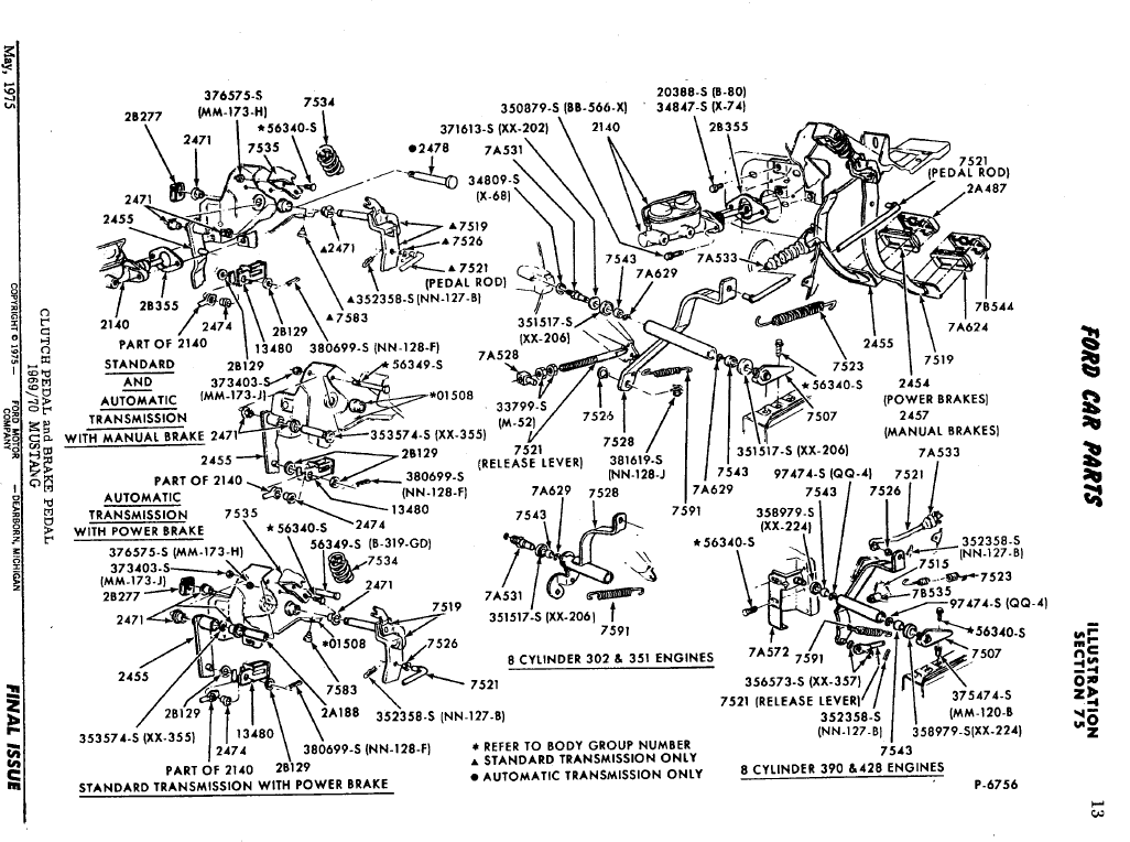 71 Mustang Clutch Pedal Wiring Diagrams on 1973 mustang mach 1 wiring diagram