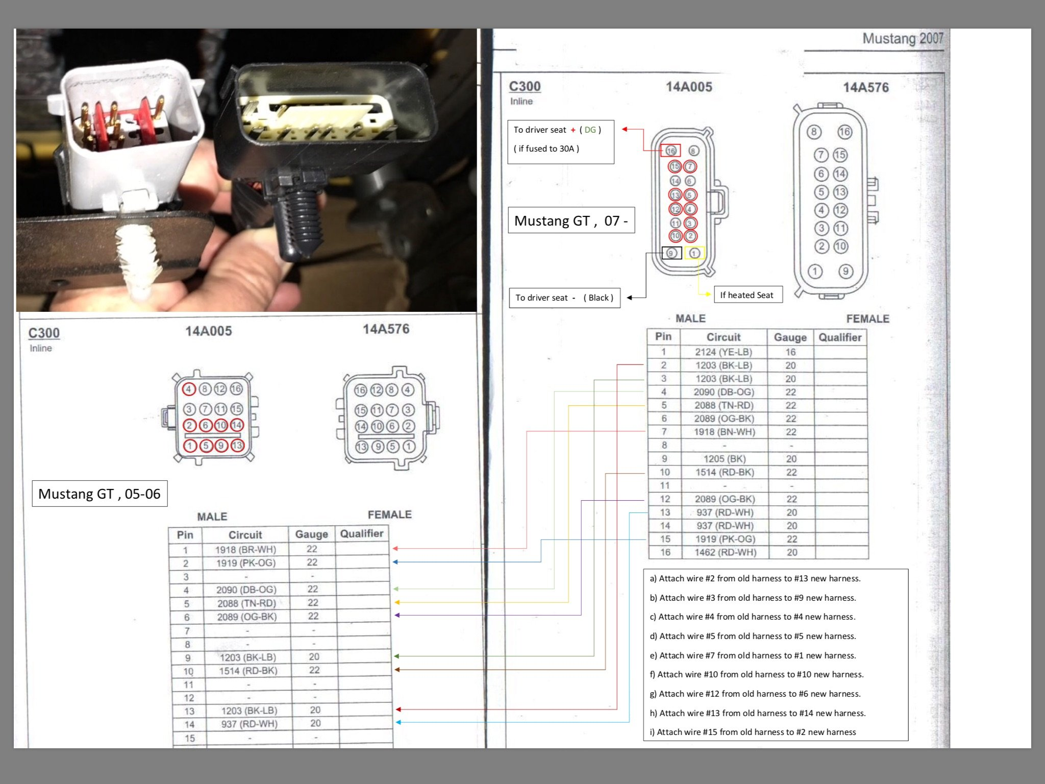 Mustang Gt Passenger Seat Conversion To Power Ford Forum Wiring Diagram 2006 Click Image For Larger Version Name 6b1caf2a 7952 402a A973 3da7b118c6c3