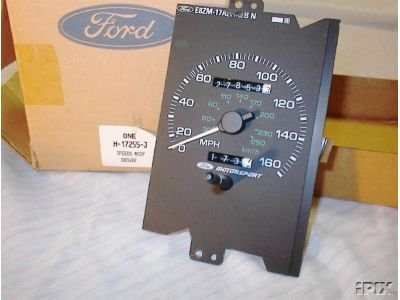 Instrument Cluster For 1988 Mustang Gt Ford Mustang Forum