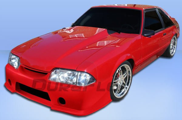 D New Foxbody Gt Front Bumper Mustanggt Complete
