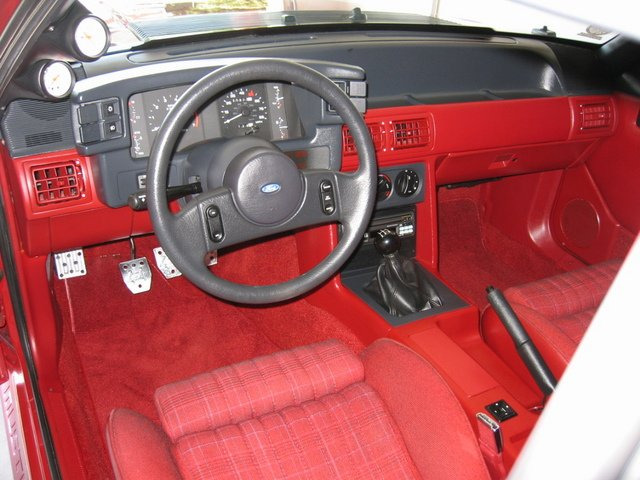 Need Help With Interior On 1988 Mustang Lx Ford Mustang