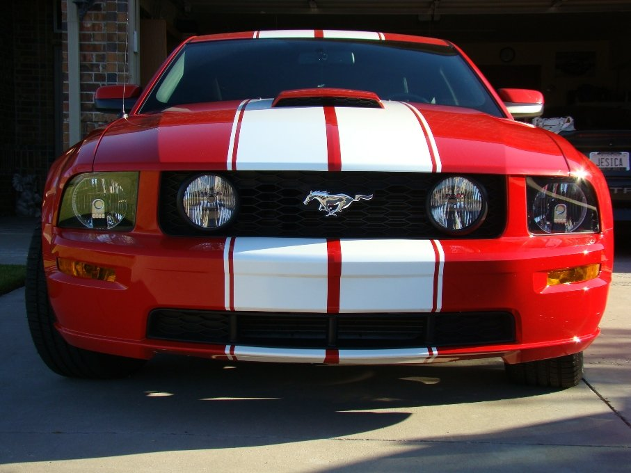 Side Stripes Added Ford Mustang Forum