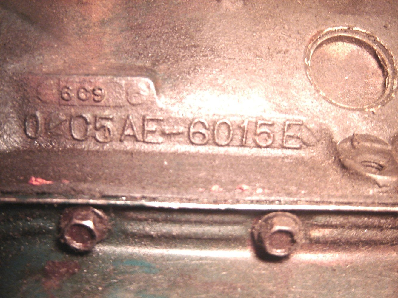 Engine block code for a mustang 90110 006 jpg