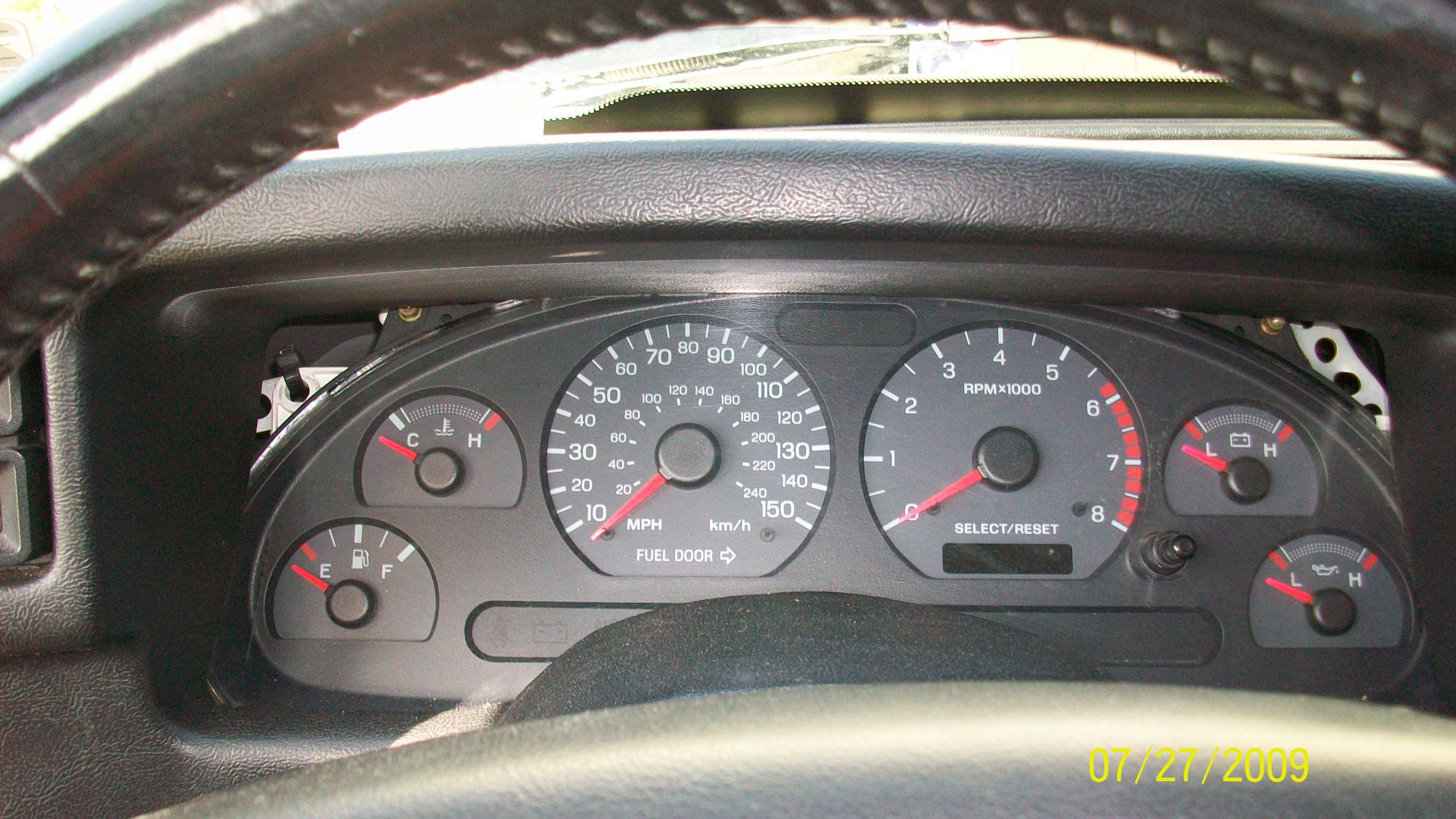 4 6 In Fox Body 93 Gt 2002 Dash Jpg