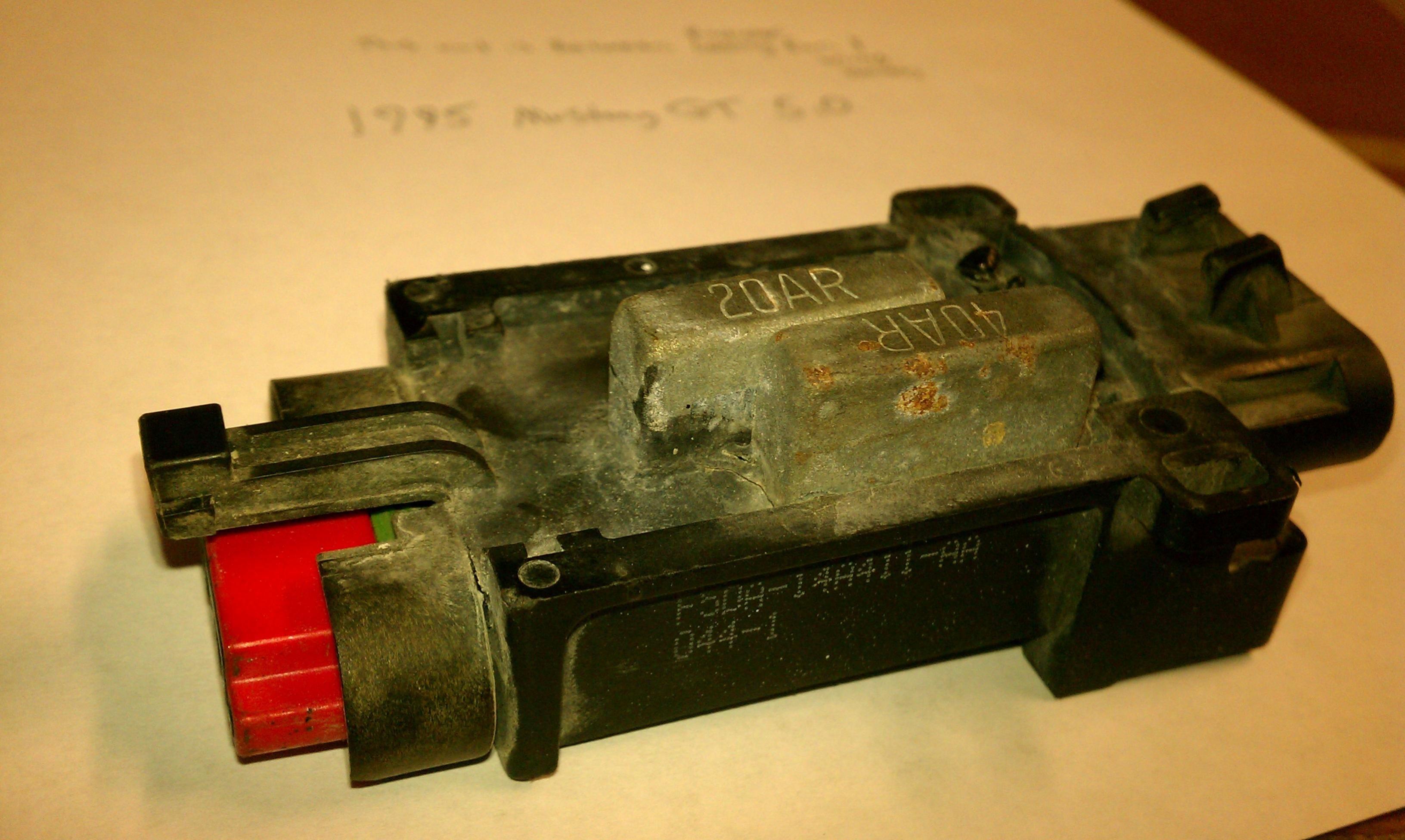 95gt 5 0 Radiator Fan Module
