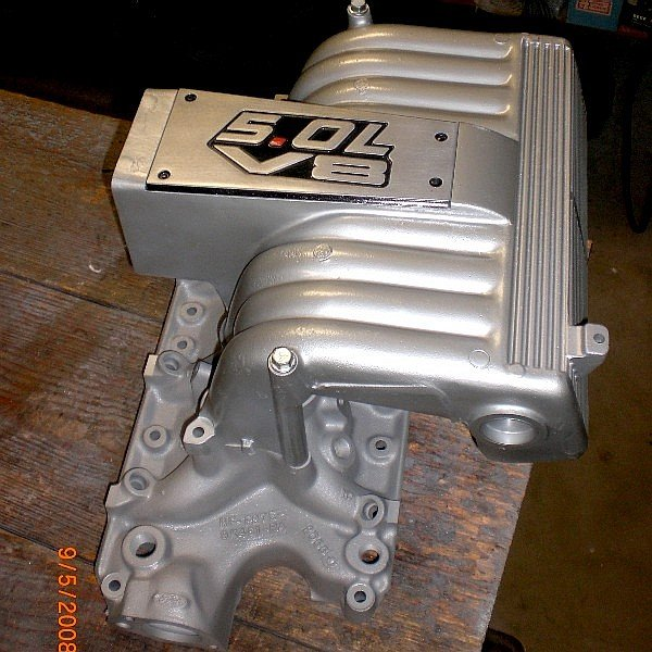 Post Pict Of 5.0 Intake Cover Plate