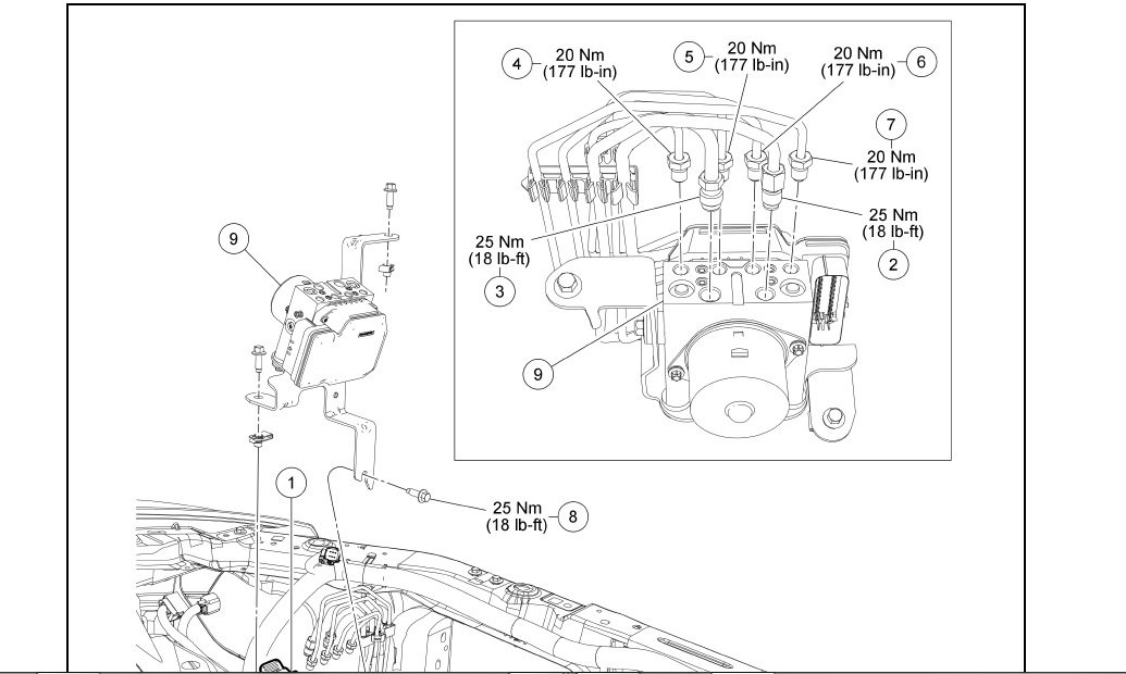abs brake lines diagram help
