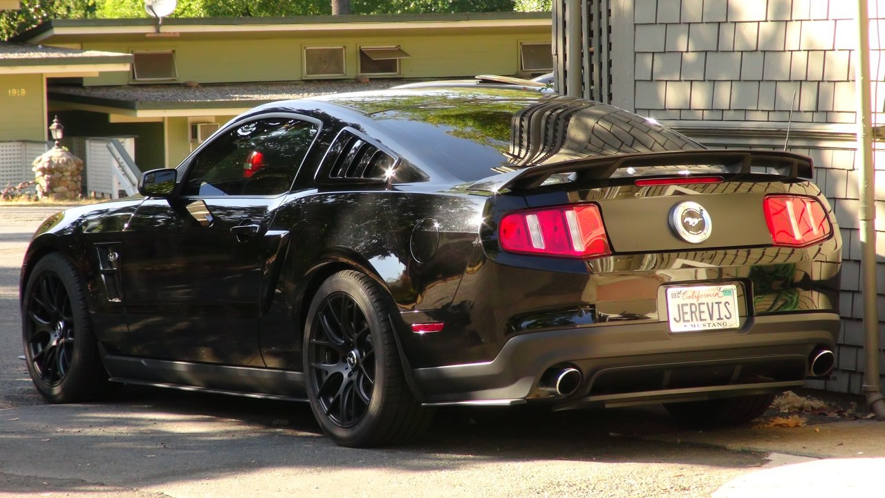 2011 With Gt500 Wing Louvers Roush Preferred Pictures