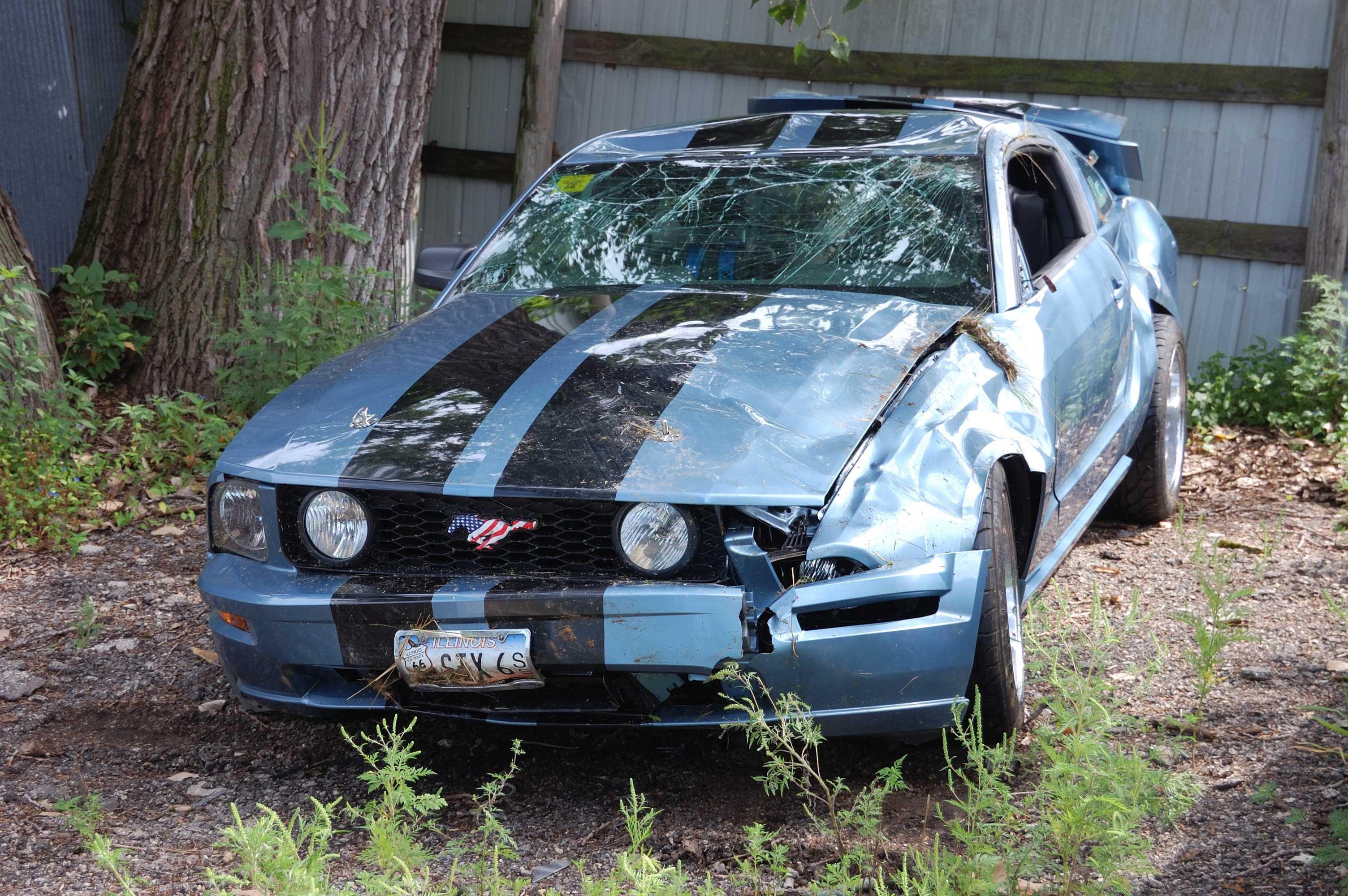 2005 Mustang Crash Testing Ford Mustang Forum