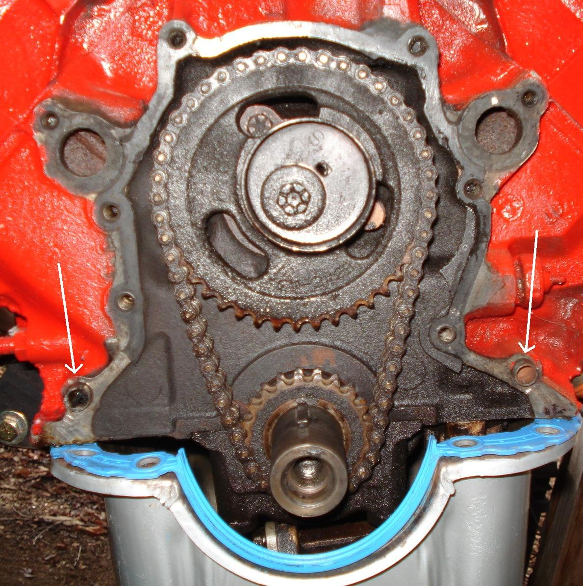 302 Timing Cover Problem