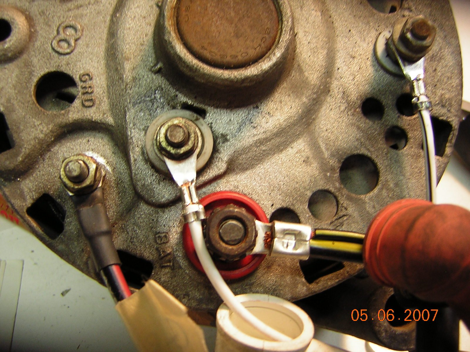 1964 to 1965 mustang wiring harness conversion discoveries ford click image for larger version alternator 003 jpg views 15625 size