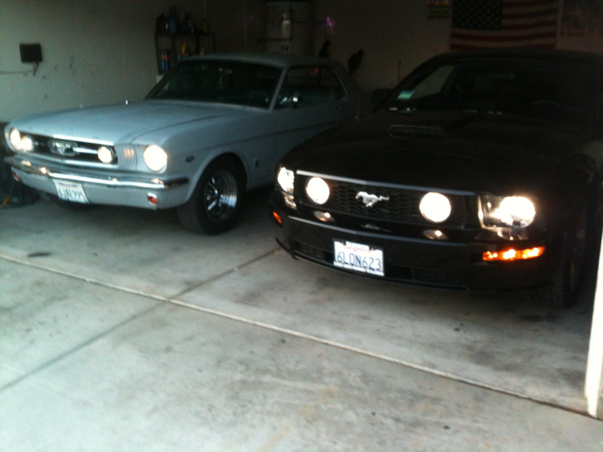 2008 Mustang Gt Hid Headlights And Fog Light Bulbs Ford