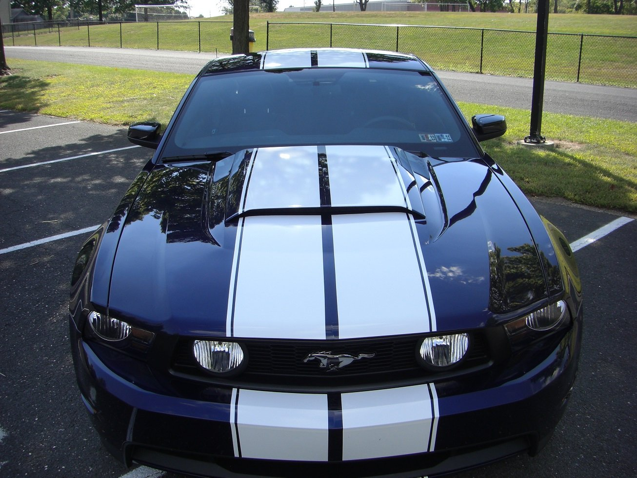 Ford San Antonio >> Racing stripes: tapered vs. straight, and measurements? - Ford Mustang Forum