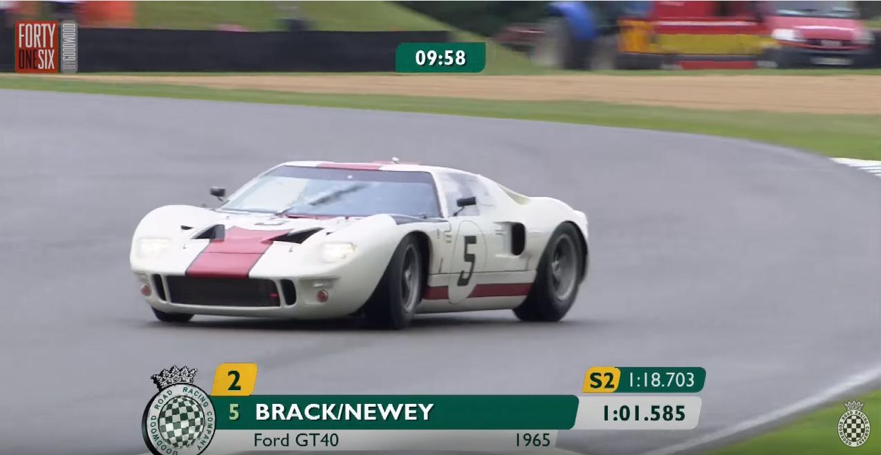 Throwback Thursday: That Time Kenny Brack Drove Adrian Newey's GT40 Like a Rally Car