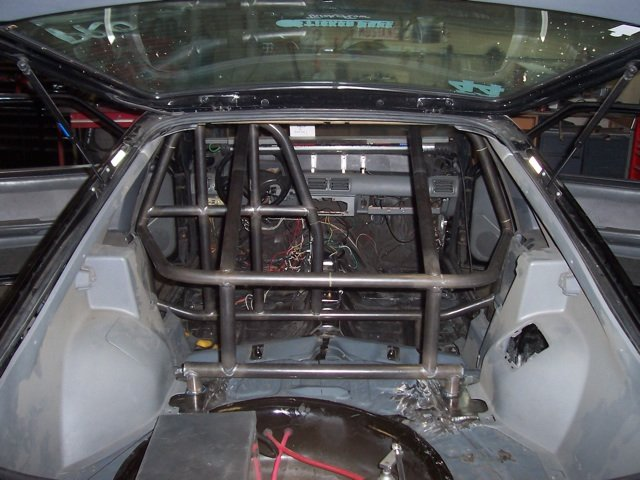 My Roll Cage Build Thread Ford Mustang Forum