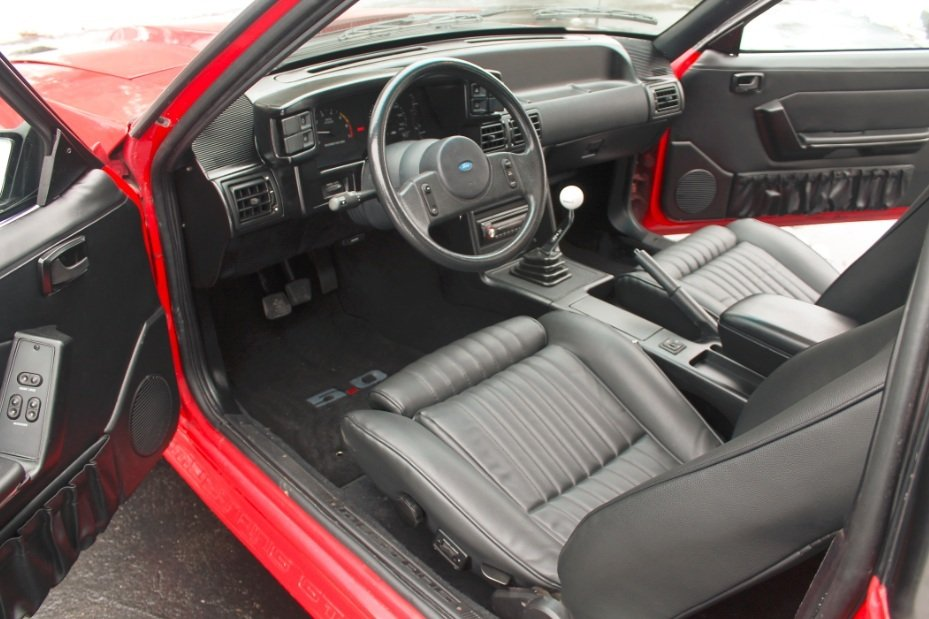 Ford Mustang Forum View Single Post Black Interior