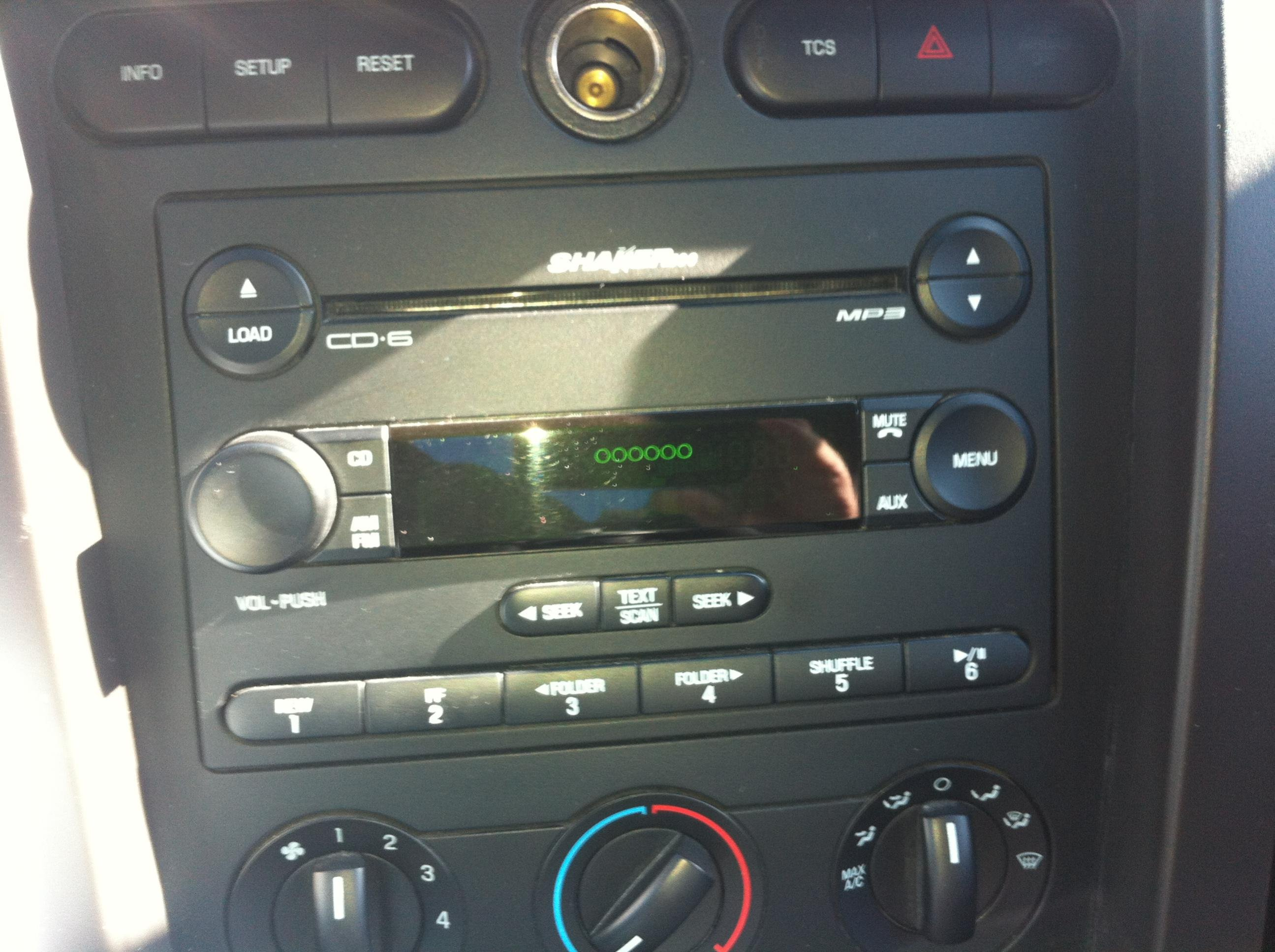 D Shaker Cd Error Blank on Ford Radio Wiring Diagram