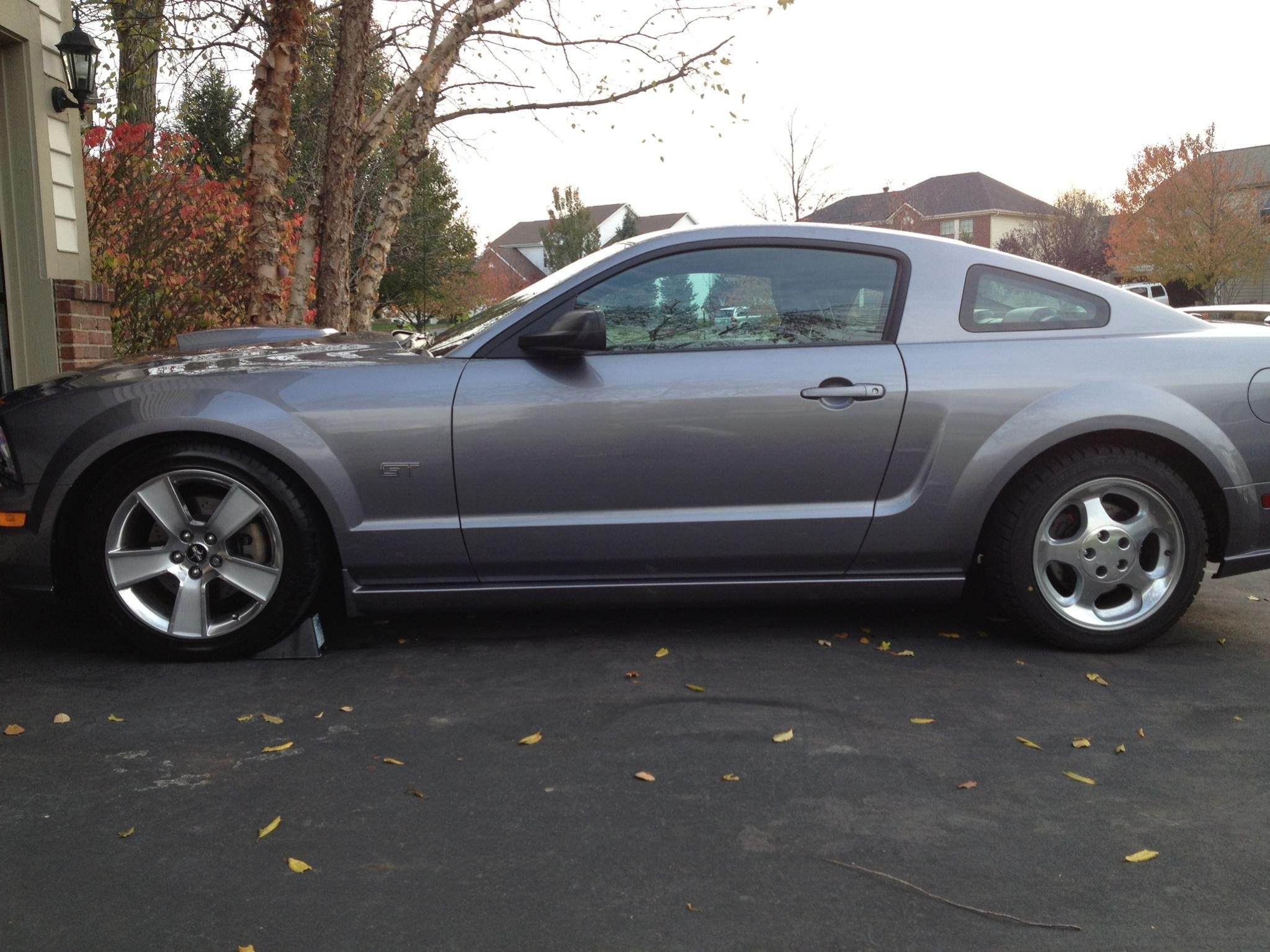 2007 mustang gt winter tire setup ford mustang forum. Black Bedroom Furniture Sets. Home Design Ideas