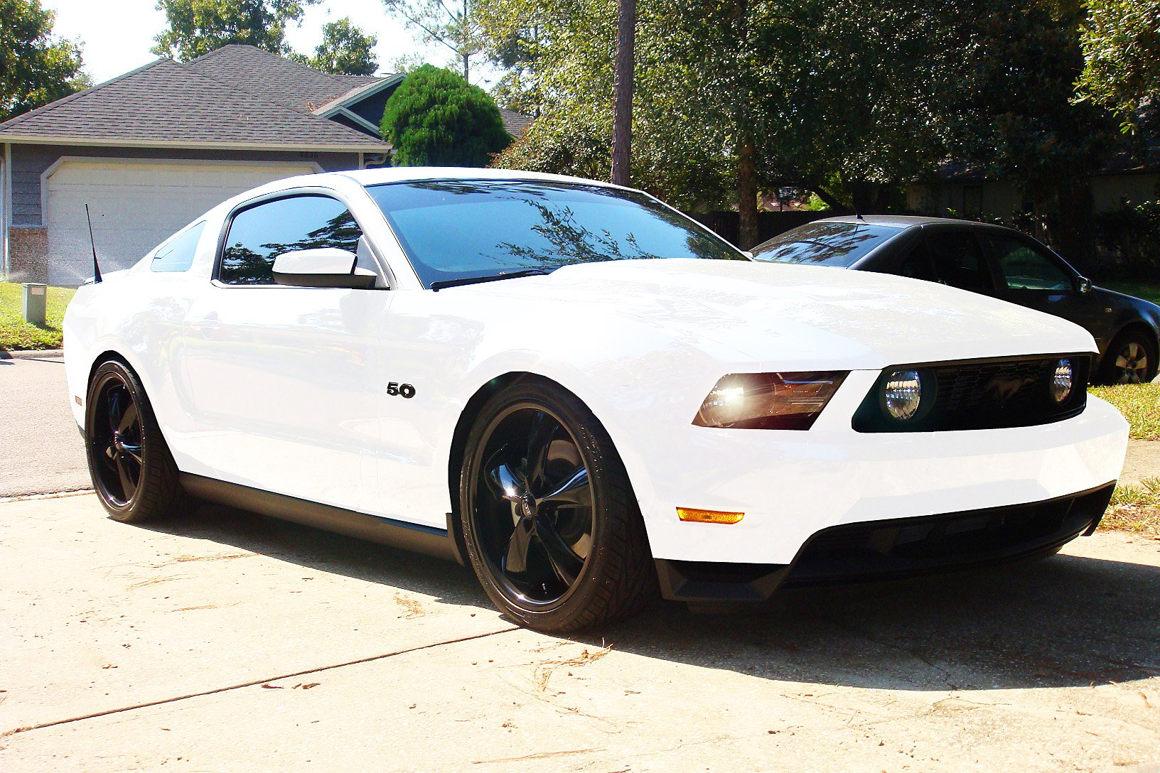 Mustang Club Of America >> PIC Request: 2010+ Mustang GT with Black SS Stealth ...