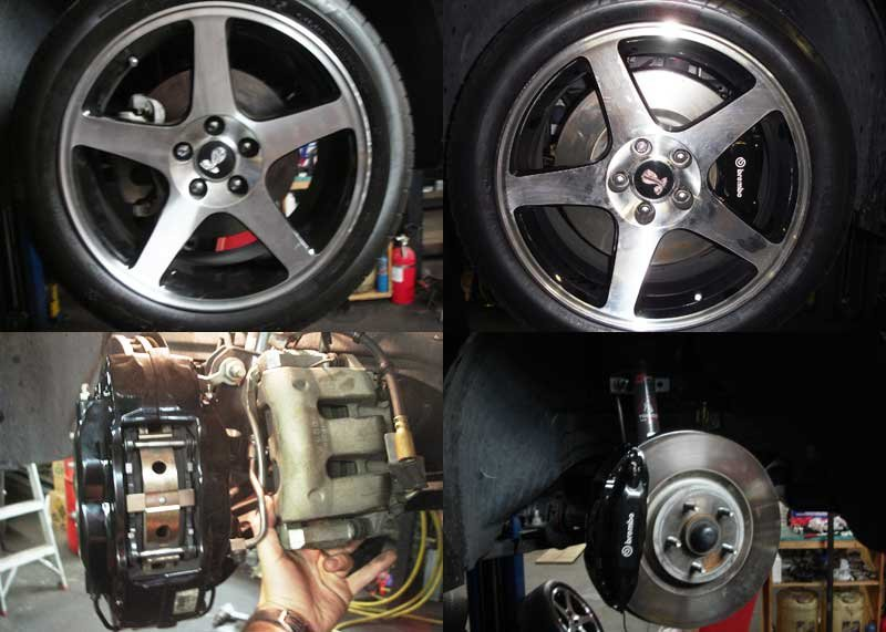 Brembo Gt500 Brakes Installed 2007 Gt Convertible Ford