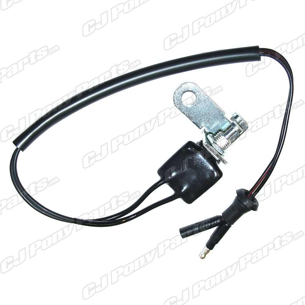 Installing Backup Light Switch- 66 3 Speed W  Hurst Shifter