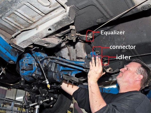 D Parking Brake Components Cable Copy on Brake Diagram