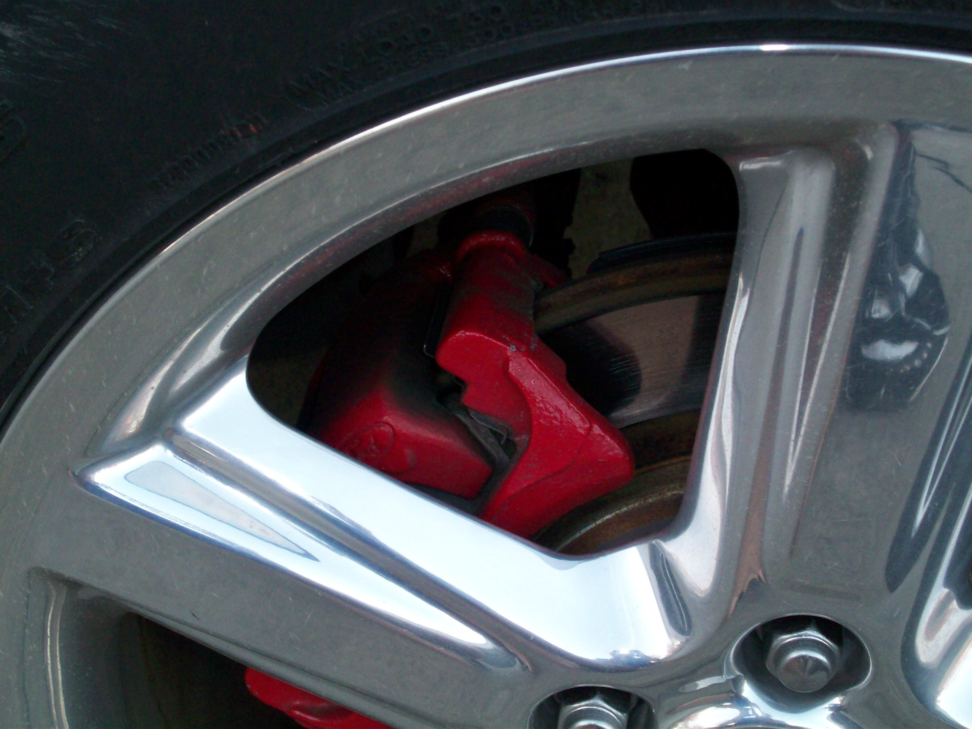 Caliper paint chop whatcha think page 2 mustangforums com -  Click Image For Larger Version Name Calipers_after 2 Jpg Views 502 Size