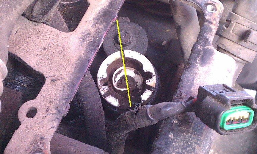 Replacing Camshaft Synchronizer Amp Sensor Page 6 Ford