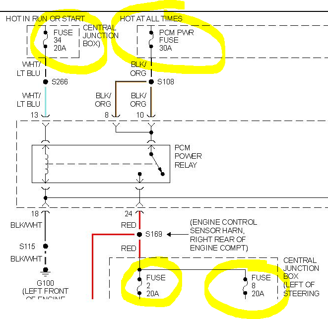 2001 mustang v6 did i kill my pcm powertrain control 02 mustang transmission diagram