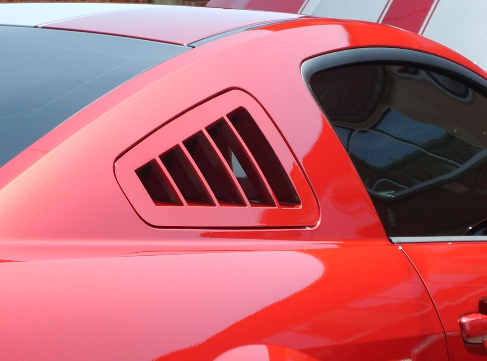 Car Hood Covers >> Window louvers without the blind spot? - Ford Mustang Forum