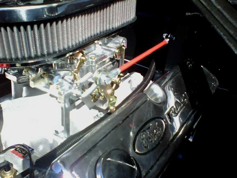 Throttle Linkage Hookup To Carb Ford Mustang Forum