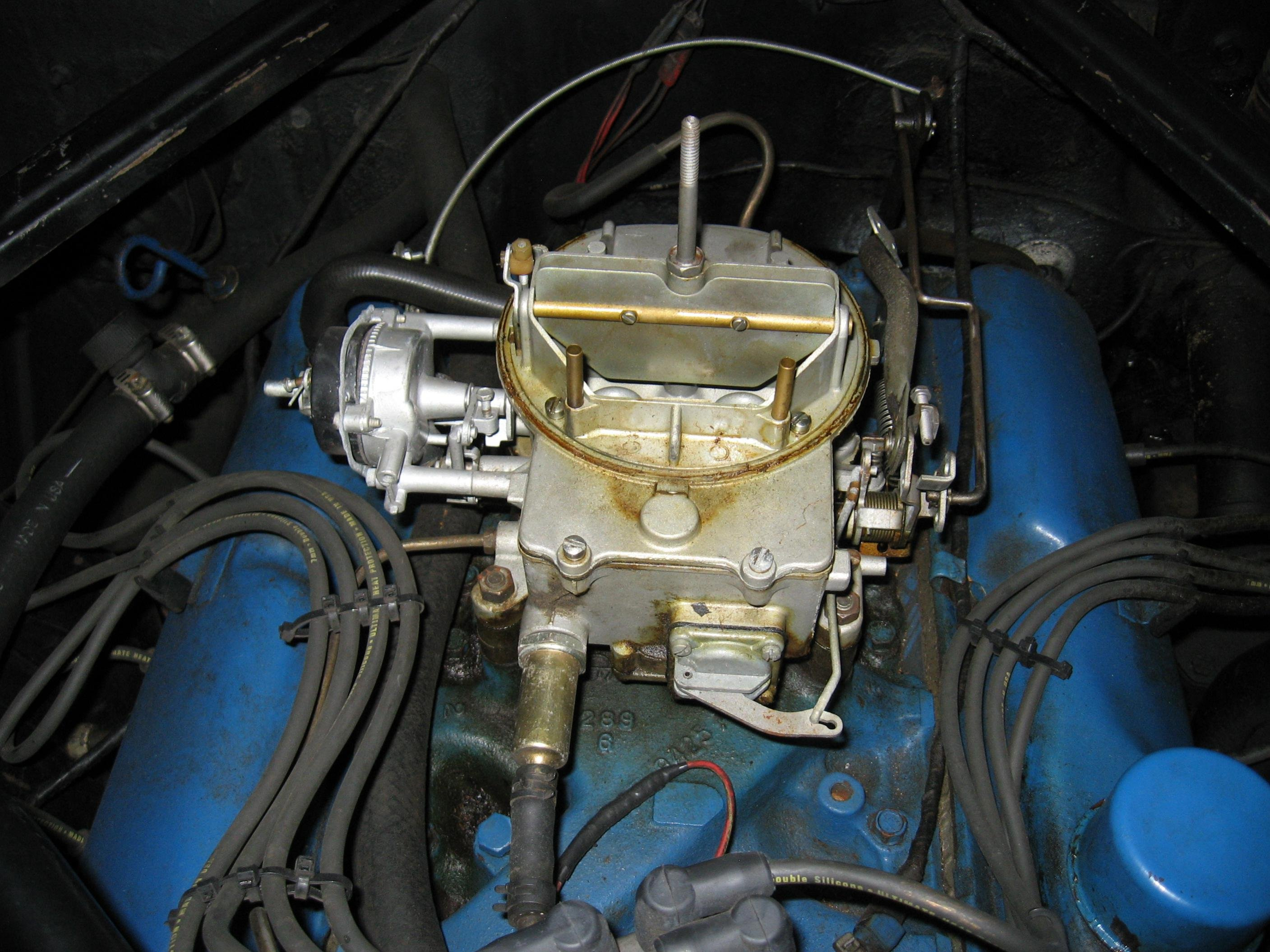 Is this carb too much for my 289 carburetor 2bbl 1966