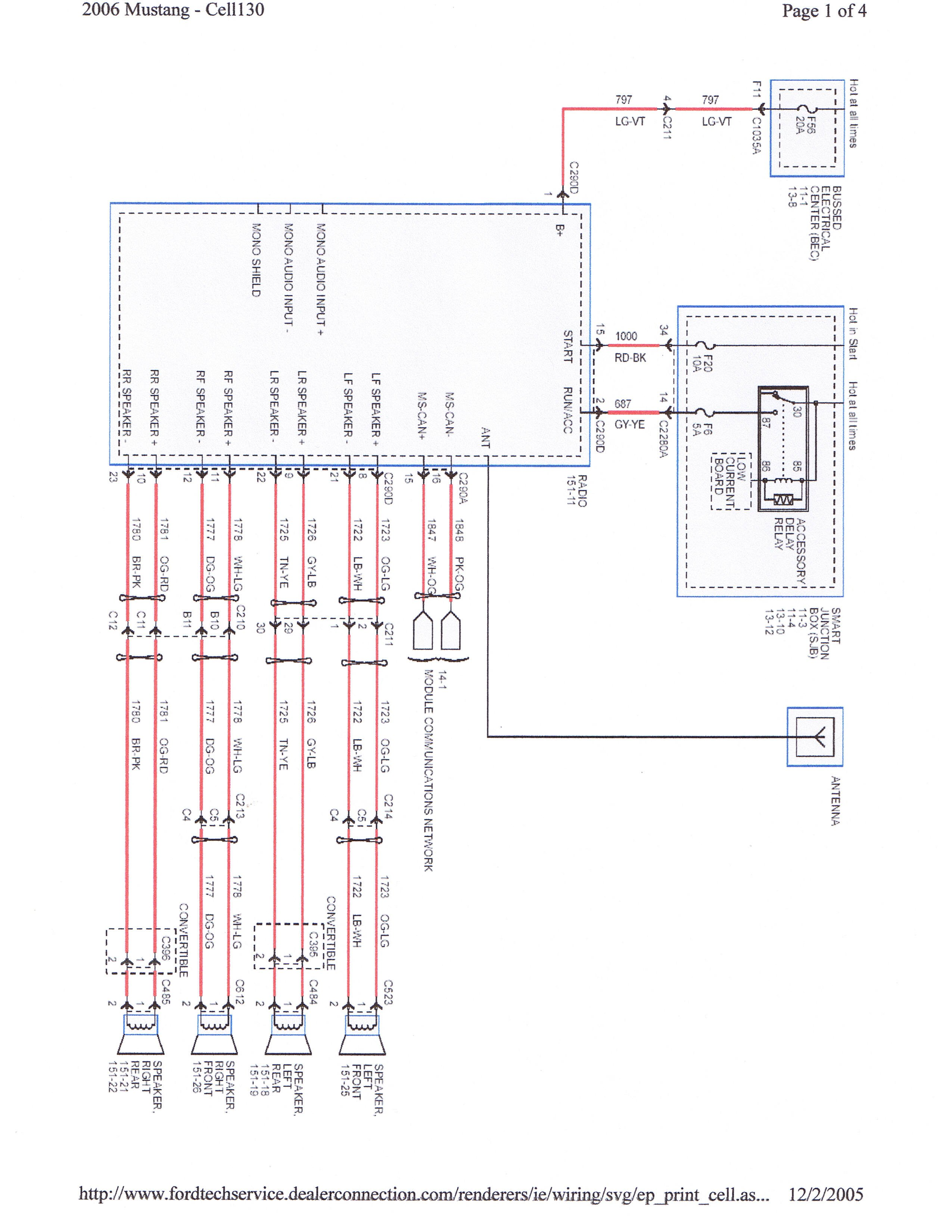 Shaker 500/1000 Harness Question (subwoofer) | Ford Mustang Forum | Ford Shaker 500 Radio Wiring Diagram |  | All Ford Mustangs