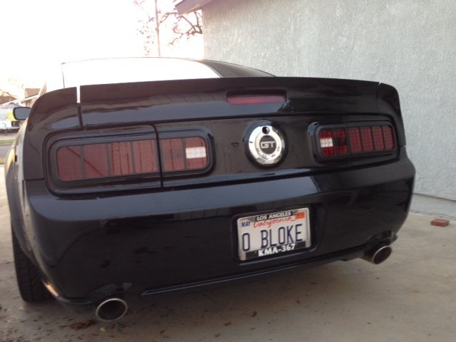 Cervinis Tail Light Conversion Ford Mustang Forum