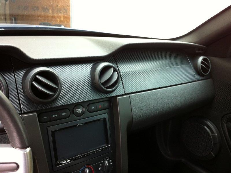 2006 Mustang GT Carbon Fiber Dash Trim Kits Ford Mustang