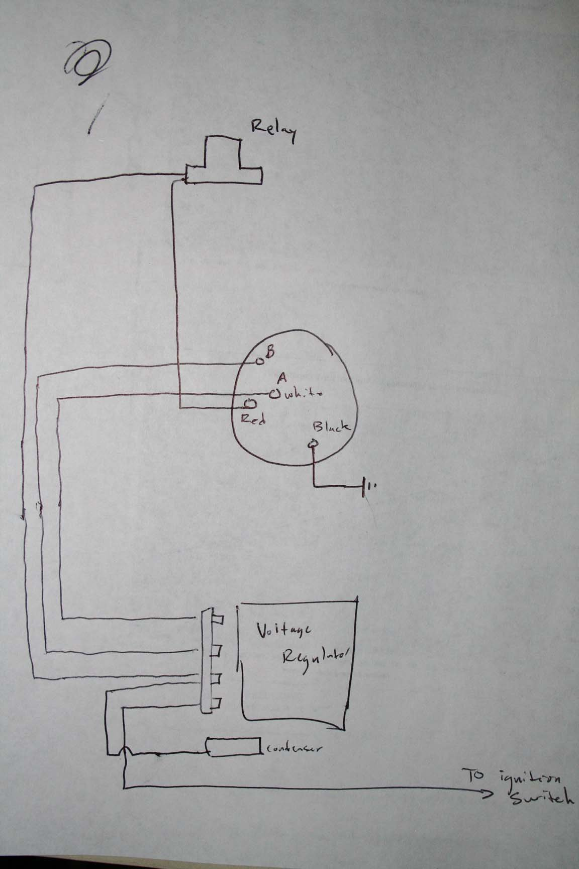 voltage regulator alt wiring on 67 coupe have a wire i m not sure click image for larger version charging system diagram jpg views 5786 size