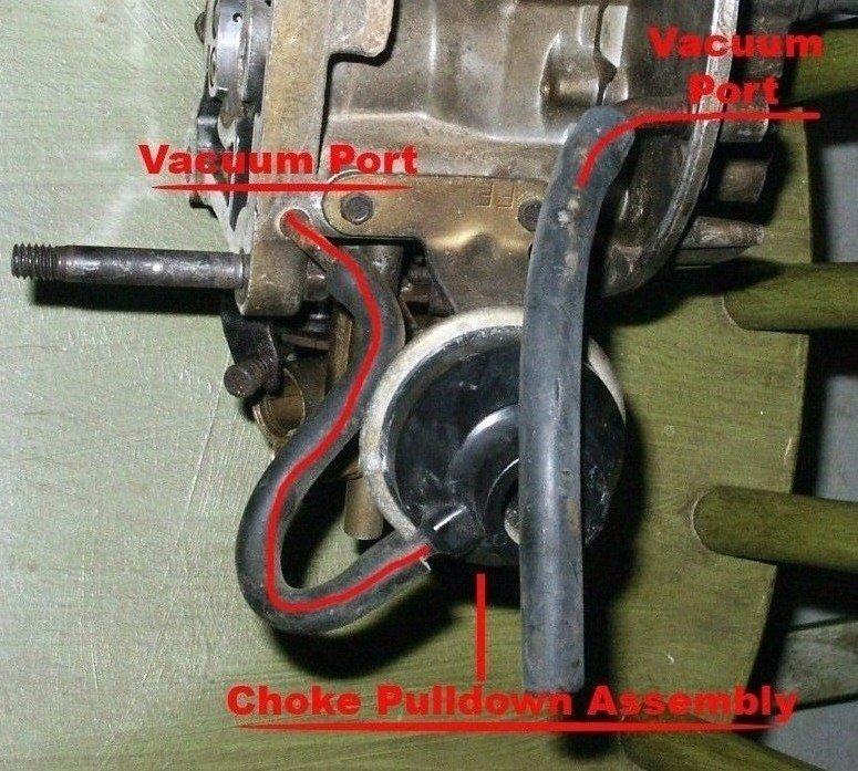 63141d1236396307 2100 carb diagram chokepulldownports 2100 carb diagram page 2 ford mustang forum Motorcraft 2150 Carburetor Identification at cita.asia