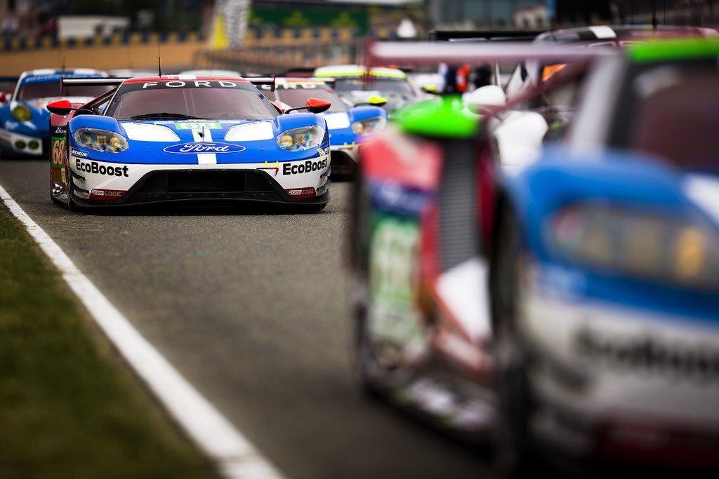 Ford Chip Ganassi Racing Turned Up The Wick Last Night In The Qualifying