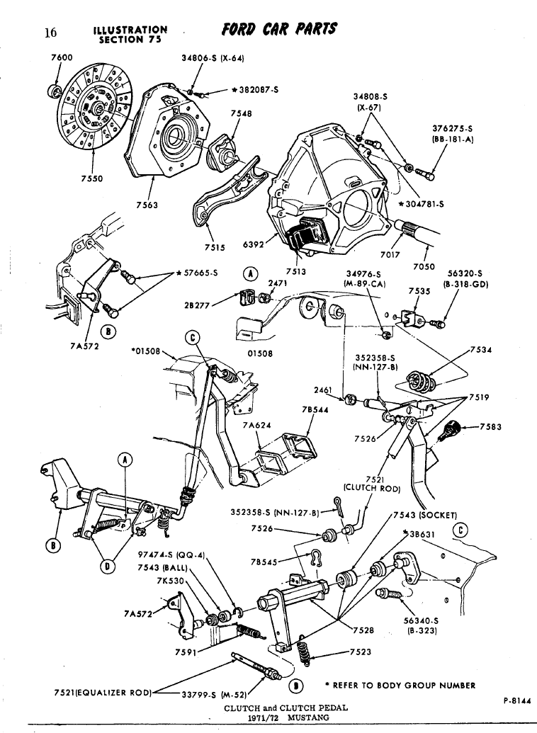 Wiring Diagram For 67 Mustang